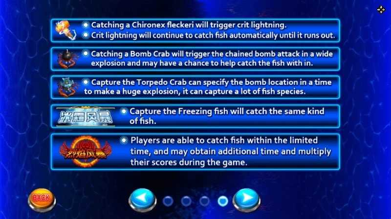 fish-shooting game
