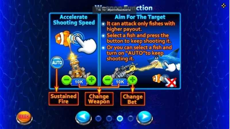 วิธีเล่นเกมยิงปลาได้เงินจริง