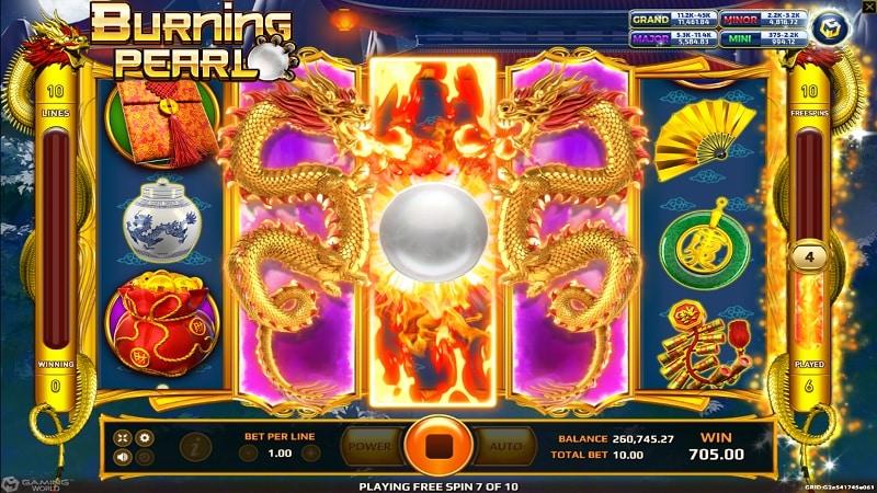 Spielen Sie Burning Pearl Kostenlos Im Demo Mode Von EAGaming