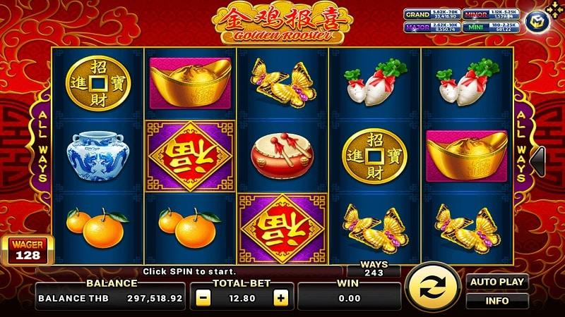 Golden Rooster slot ใน biobet-casino