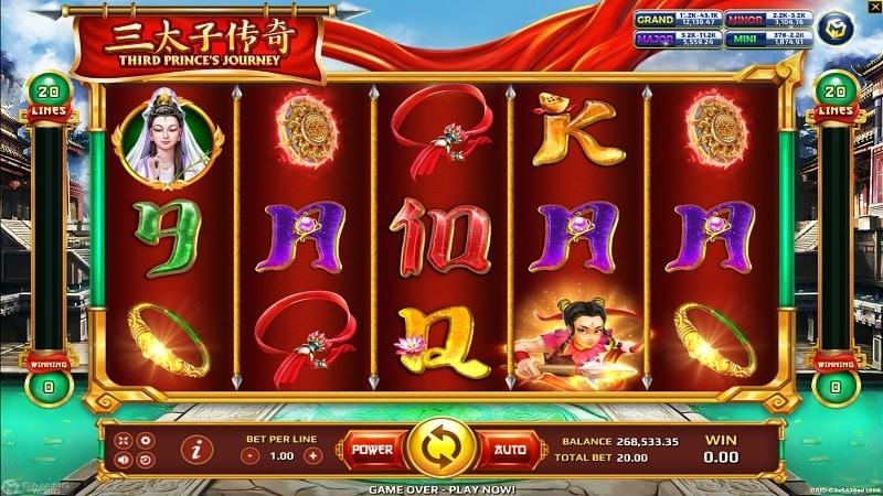 THIRD PRINCE'S JOURNEY slot ใน biobet-casino