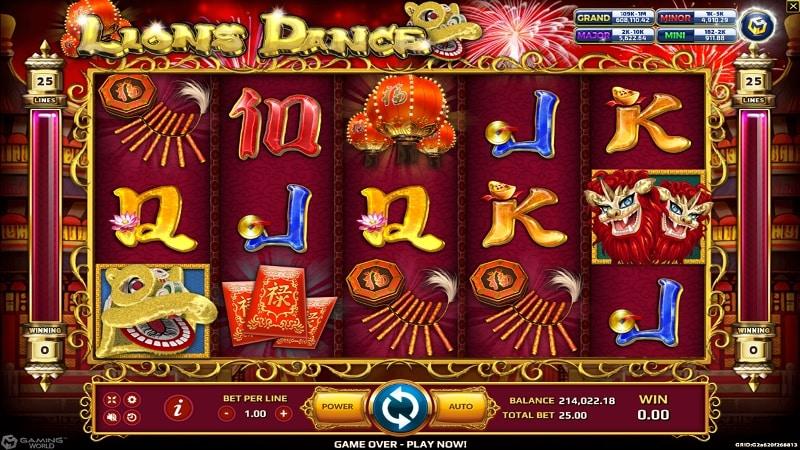 สล็อต Lions dance biobet-casino