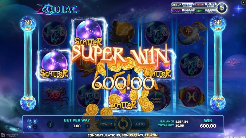 สล็อต Zodiac Biobet-casino