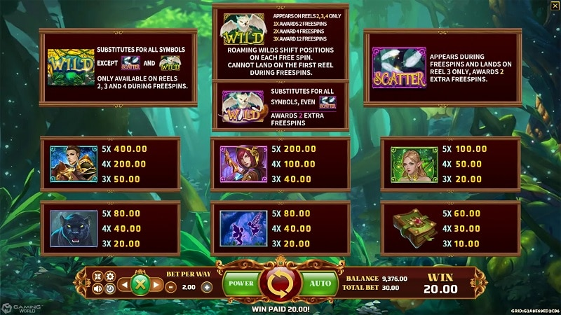 Enchanted Forest biobet