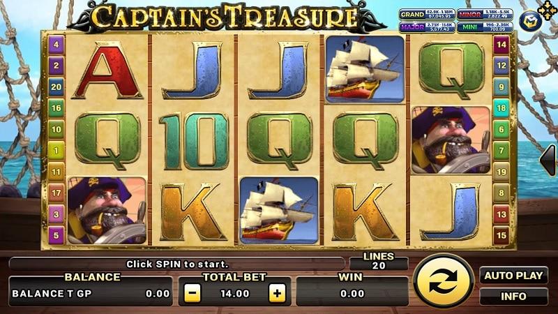 Captain's Treasure Pro Biobet-casino