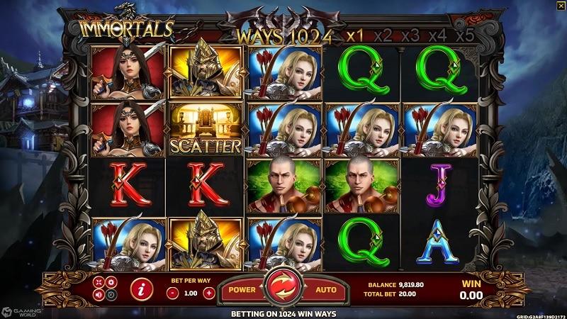 Immortals biobet-casino